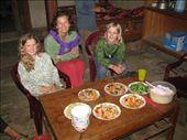Our homestay feast: by terrihorner, Views[219]