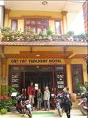 Adrian and the children at the Cat Cat Twighlight Hotel, Sapa: by terrihorner, Views[147]