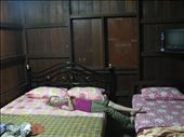 Chalet Darul Aslah! The rooms are very small with 1 double and 1 single- own Bathroom and TV - the owners' daughter who manages it is lovely.: by terrihorner, Views[1576]