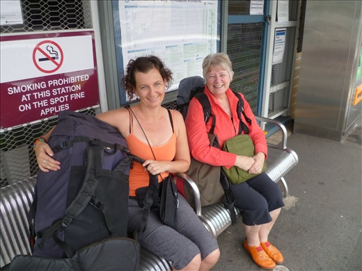 Departure from Deagon station, Queensland