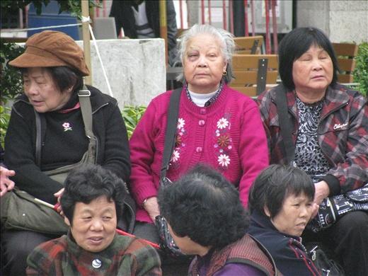 Senado Square- a peaceful demonstration
