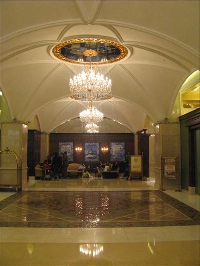 Hotel lobby of Casa Real