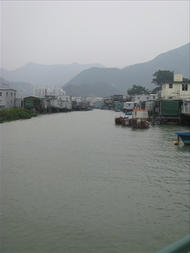 River, Tai O, taken from the point