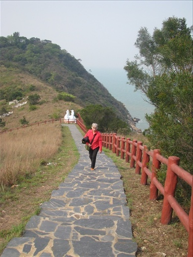 Top of the hill at dolphin lookout- Tai O