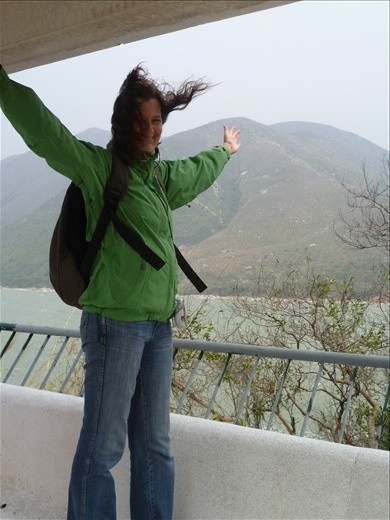 A little windy at the point - Tai O