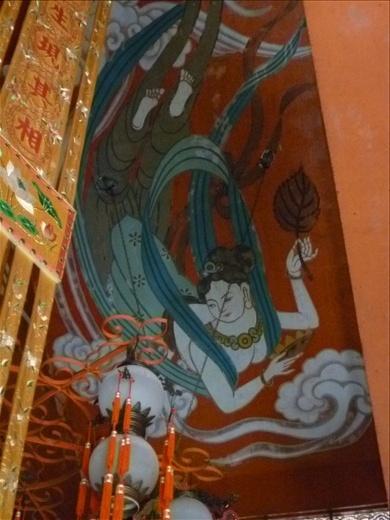 Part of ceiling art- Po Lin Nunnery, Lantau