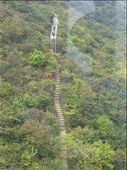 Another view from our cable car ride looking down on one of the hiking trails - Lantau: by terrihorner, Views[230]