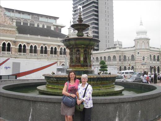 Victoria Fountain - Terri and Helen