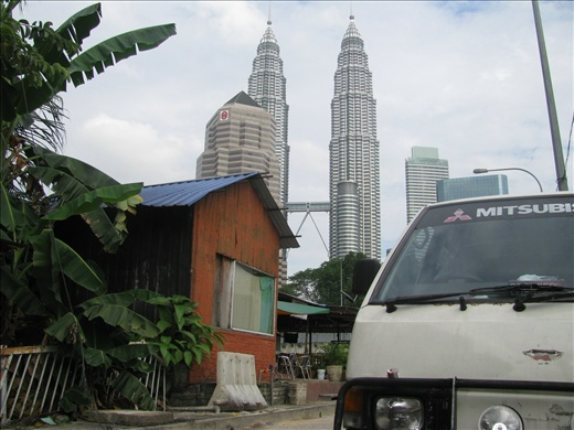 Old & new - rare Malay settlement overshadowed by the petronis towers