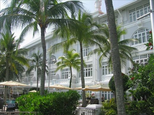 Eastern & Oriental Hotel- poolside/ Oceanside (Melaka Straits)