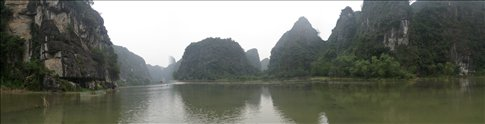Panorama of Tam Coc