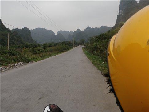 Motorbiking on Cat Ba
