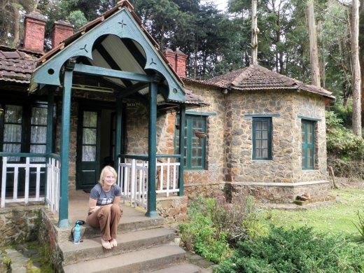 Our abode! Gorgeous 19th Century stone cottage in Kodaikanal.