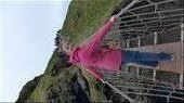 Crossing Carrick-a-Reed Rope Bridge: by the_life_of_lady_laura, Views[109]