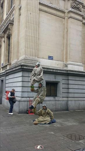 Buskers in Belgium