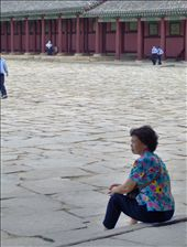 Mom's friend inside the royal palace grounds.: by the_nomads, Views[370]