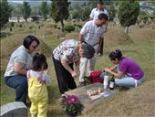 Getting ready to honor my great grandmother at her gravesite (to the right).: by the_nomads, Views[351]