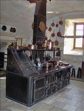 Kitchen oven and stove in Chennonceaux: by the_nomads, Views[379]