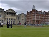 A shot to remember off the first tee of the Old Course...hooked left, but still hung on for par: by the_nomads, Views[299]