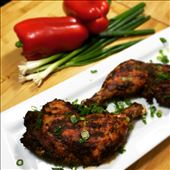 Grilled chicken with harissa and spices is ready to eat!: by the_tweatery, Views[136]