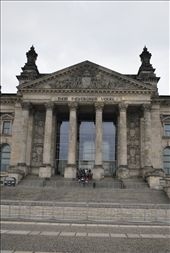 The famous front steps of the Reichstag, the German parliament building.: by thealmightypadfoot, Views[512]