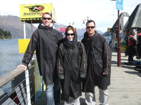 Our get ups for the jet boat... think they are a bit big