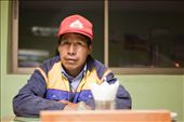A Bolivian truck driver in a restaurant just over the border in Northern Chile.: by theearth, Views[188]