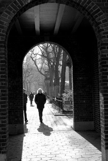 This was taken in New York City in December 2010, next to the Central Park Zoo.