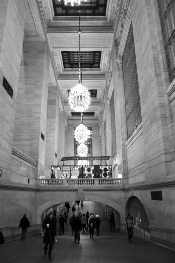 This photo was taken at Grand Central Station in New York City in December 2010.