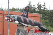 killer whale carving, Haines: by thefuegoproject, Views[441]