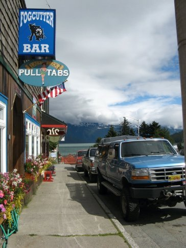 Streetscape of Haines