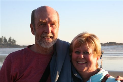 Dad and Joan, Long Beach