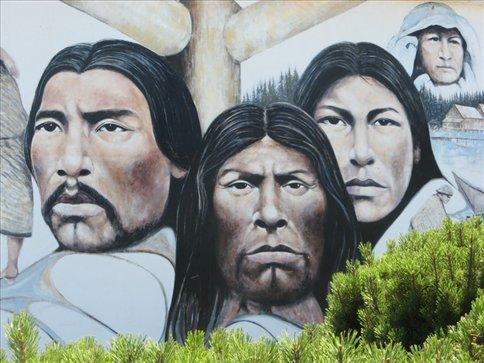 mural in Duncan