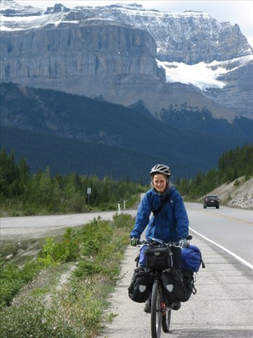 anna on icefields parkway