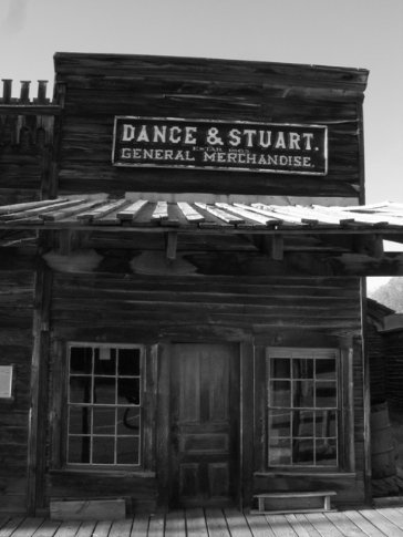 Virginia City, old gold mining town