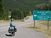 the 'Not going to the sun' road...entering Glacier NP, we would find out in 4 miles that they closed the GTTSR a day earlier and it was not possible to ride to Logan Pass...: by thefuegoproject, Views[262]