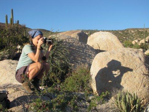 Anna at Catavina boulder field