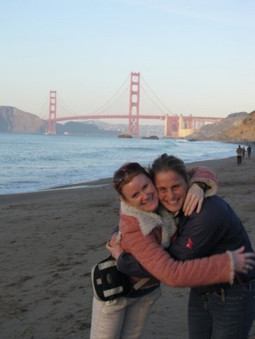 Coenie and Anna, Golden Gate Bridge