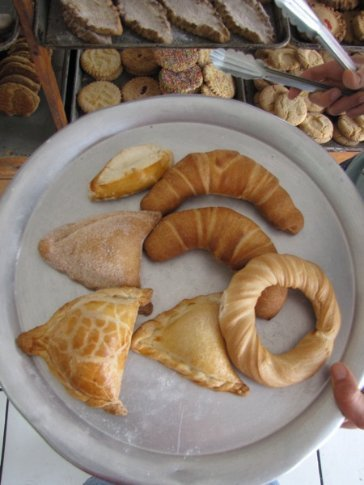 Mexico has the greatest variety of breads and pastries in the world. Our hotel in Tepic is near the bakery....