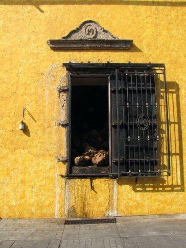 Pinas roasting at Jose Cuervo distillery
