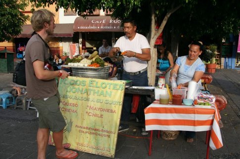 Streetfood in Tequila