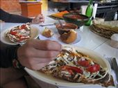 Tlayuda, or Oaxacan pizza: by thefuegoproject, Views[244]
