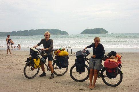 Playa Samara, where we catch up with Nobu and Hiro