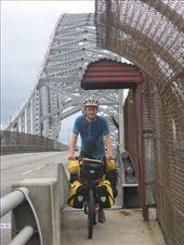 Ali crossing the Panama canal via the Puente de las Americas, into South America: by thefuegoproject, Views[365]