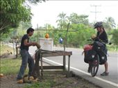 Anna feeds the 'coco' addiction, roadside in Colombia: by thefuegoproject, Views[281]