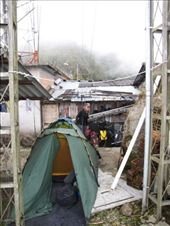 New Years Eve 2009/2010! Camped out with our Colombian host under the antennae, El Mirador: by thefuegoproject, Views[381]