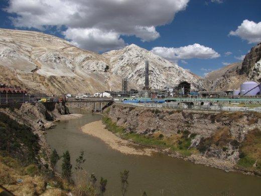 The mining town of La Oroya