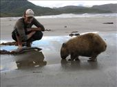 ali meets old wombat o the beach: by thefuegoproject, Views[5785]