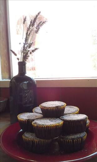 vegan chocolate beet cupcakes