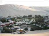 A small tourist village surrounded by massive sand dunes called Huacachina. We stayed here for 3 nights.: by thehappyeggs, Views[245]